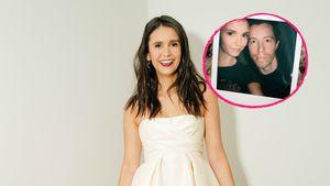 Total verkuschelt: Nina Dobrev teilt erstes Selfie mit Shaun