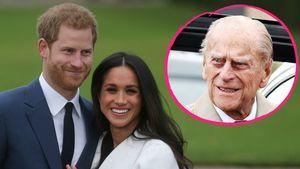 Harry & Meghan: Rasche Hochzeit vor Prinz Philips (96) Tod?