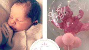 1 Woche alt! Prinzessin Adrienne präsentiert putzige Frisur