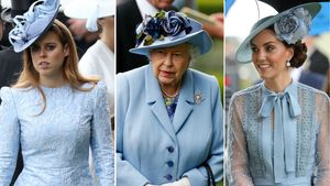 Ungewohnt: Kate, Beatrice & Co. tragen selbe Farbe wie Queen