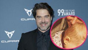 Selten: Ex-GZSZ-Star Raphael Vogt zeigt seine Tochter Océane