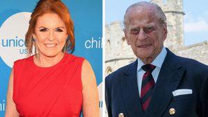 Sarah Ferguson nicht zu Prinz Philips Beerdigung eingeladen