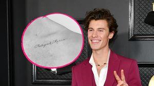Für seine Schwester: Shawn Mendes lässt neues Tattoo stechen