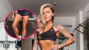 Training zahlt sich aus: Sophia Thomalla zeigt Mucki-Beine