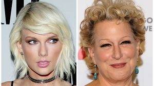 Sängerin Taylor Swift und Entertainerin Bette Midler