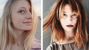 Ciao, Blondie: GNTM-Trixi hat rote Haare und einen Pony!
