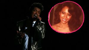 Bruno Mars und seine Mama Bernadette