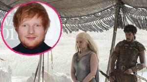 """Collage von Ed Sheeran und """"Game of Thrones"""""""