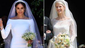 Wurde Gabriella etwa von Meghans Hochzeitskleid inspiriert?