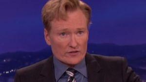 Conan O'Brien verkündete Robin Williams' Tod live!