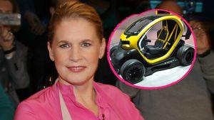 In diesem Mini-Flitzer hatte Cornelia Poletto den Unfall!