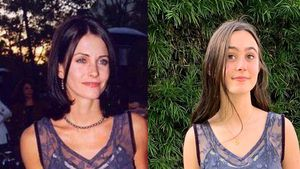 Style-Zwillinge: Courtney Cox' Tochter trägt Mamas Kleid