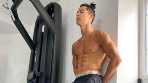 Perfekt definiert: Cristiano Ronaldo grüßt aus dem Home-Gym