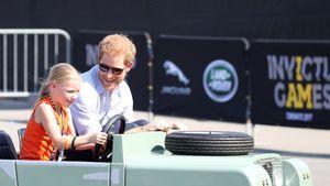 Goldiger Auftritt! Prinz Harry beweist seine Papa-Qualitäten