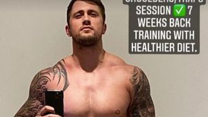 Nach Training: UK-Star Dan Osborne zeigt Body-Transformation