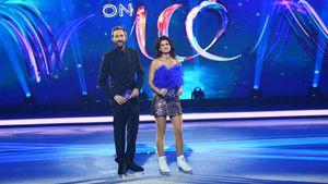 """Dancing on Ice"": Marlene Lufen im Krümelmonster-Outfit"