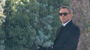 Beerdigung in Rom: Neue Bilder vom James Bond-Set
