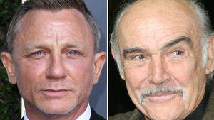 007-Star Daniel Craig nimmt Abschied von Sean Connery (†)