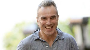 Daniel Day-Lewis in Greenwich Village, New York