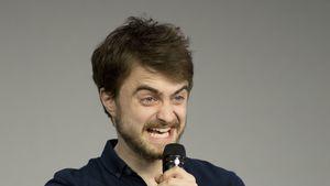 """Daniel Radcliffe bei der Präsentation von """"Swiss Army Man"""""""
