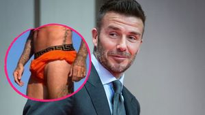 Großes Paket: David Beckhams Badehose zeigt (fast) alles!