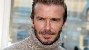 David Beckham bei einer Fashionshow von Louis Vuitton