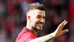 Sieben Jahre in Kicker-Rente: David Beckham blickt zurück