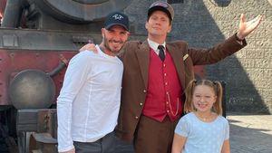 Magisch: Beckham-Kids tauchen in Harry-Potter-Welt ein!
