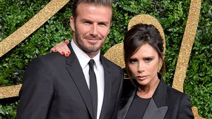David Beckham und Victoria Beckham bei den British Fashion Awards 2015