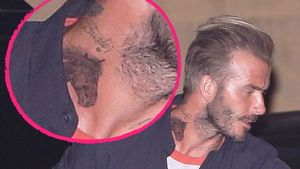 David Beckhams neues Pferde-Tattoo