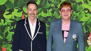 Ganz offiziell: Elton John ehelicht seinen David