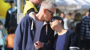 Beim Lunch-Date: Selma Blair bekommt süßen Kuss von David!