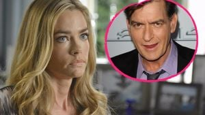 Denise Richards und Charlie Sheen Collage