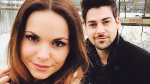 Denise Temlitz mit ihrem Freund Patrick Cuninka
