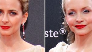 Deutscher Filmpreis: Red Carpet und rote Lippen