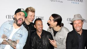 "Die Backstreet Boys bei der ""Larger Than Life""-Afterparty in Las Vegas 2017"