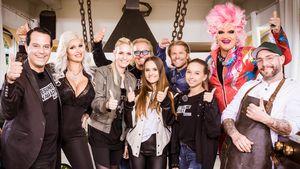 Beim Grillen: Robert Geiss & Paul Janke dissen Sophia Vegas