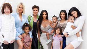 Wow-Pic: Fast alle Kardashian-Jenner-Girls posieren zusammen