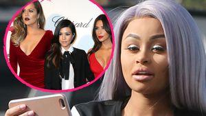Die Kardashian-Schwestern und Blac Chyna