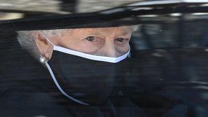 Prinz Philips Beerdigung: Die ersten Bilder von der Queen!