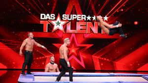 """Die Scholl-Brüder bei ihrem Auftritt bei """"Das Supertalent"""""""