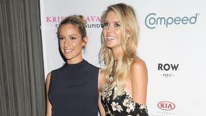 Die schwangere Kristin Cavallari und Audrina Patridge