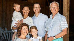 Estelle & Oscar: Silvia von Schweden schwärmt von Enkeln