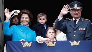 Opa feiert 72. Geburtstag: Prinz Oscar (2) ist mies drauf!