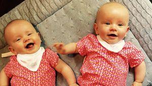 Christian Tews' Zwillingstöchter Paulina und Marlena