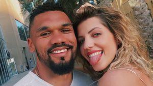 Ständig zusammen: Nerven sich Sarah und Dominic Harrison?