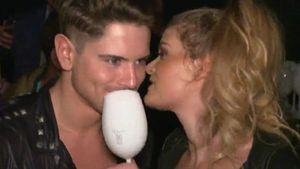 Erwischt: Mit wem flirtet Dominik Bruntner auf Fashion Week?