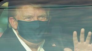 Kurz nach Infektion: Donald Trump verlässt das Krankenhaus
