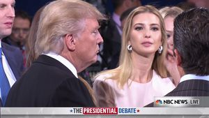 Donald und Ivanka Trump im September 2016 bei einer Wahlkampfveranstaltung in New York.