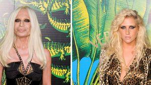 Kesha und Donatella Versace
